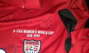USWNT '99 Signed Shirt 2
