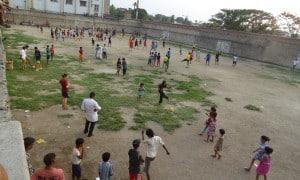 Slum Soccer. Kolkata, India