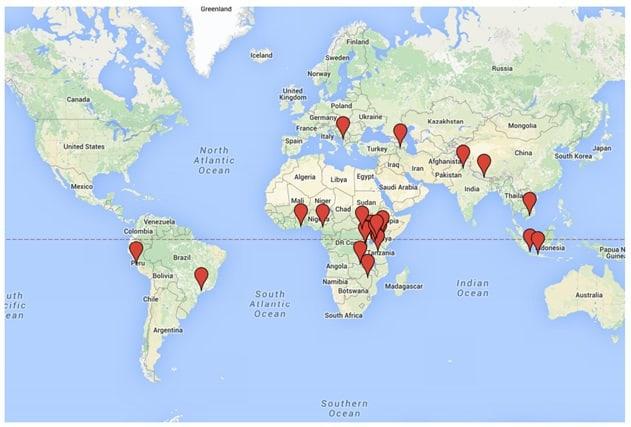 OEP Map
