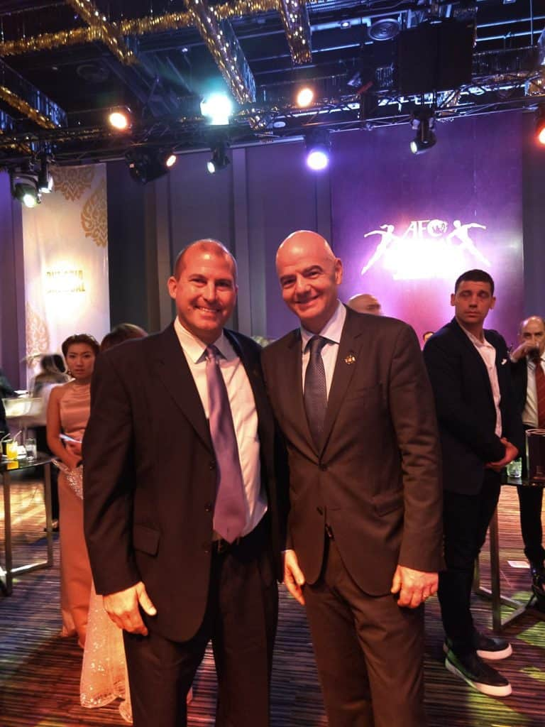 AFC Hosts CAC At Dream Asia Awards